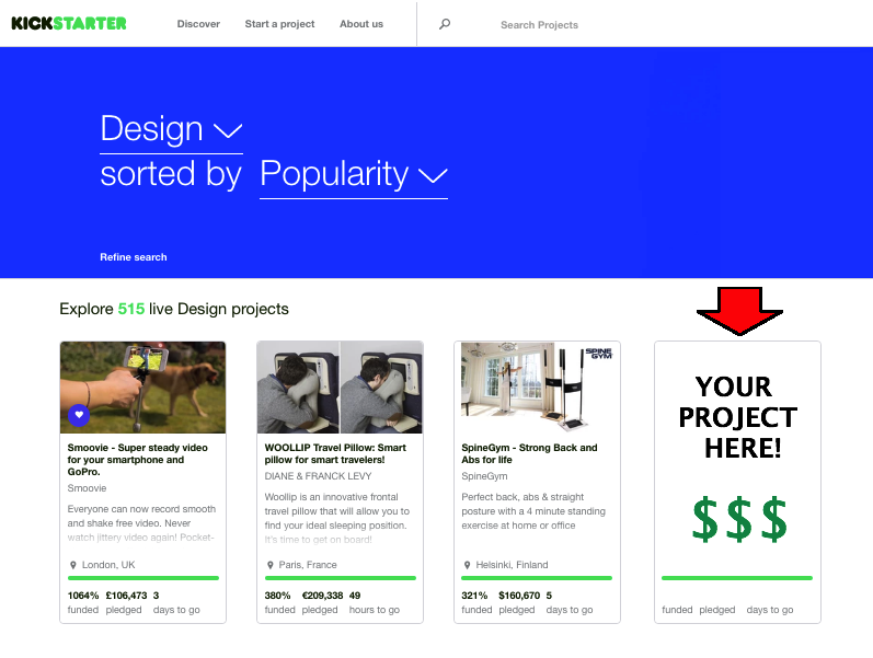 crowdfundking-kickstarterpage